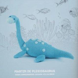 Haakboek Dino's en  Mammoeten