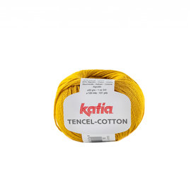 Katia Tencel Cotton 30 Mosterdgeel