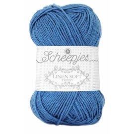Scheepjes Linen Soft 615 Jeansblauw