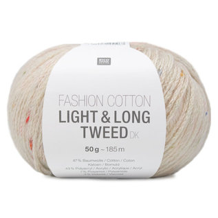 Rico Fashion Cotton Light & Long Tweed Natur