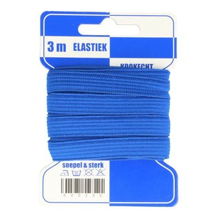 Elastiek kookvast  10 mm  meerdere kleuren
