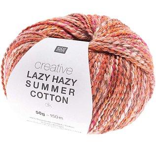 Rico Lazy Hazy Summer Cotton 004 Rood