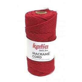 Katia Macramé Cord 111 Rood
