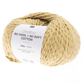 Rico So Cool  So Soft Cotton Chunky 002 Gelb