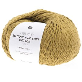 Rico So Cool  So Soft Cotton Chunky 003 Senf