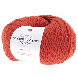 Rico So Cool  So Soft Cotton Chunky 006 Rot