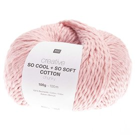 Rico So Cool  So Soft Cotton Chunky 005 Rosa