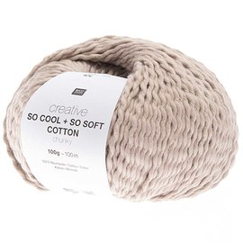 Rico So Cool  So Soft Cotton Chunky 004 Puder