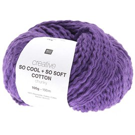 Rico So Cool  So Soft Cotton Chunky 008 Lila