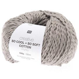 Rico So Cool  So Soft Cotton Chunky 011 Grau