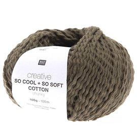 Rico So Cool  So Soft Cotton Chunky 010 Olive