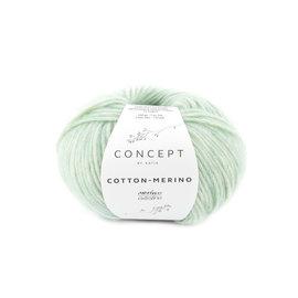 Katia Cotton Merino 132 Witgroen