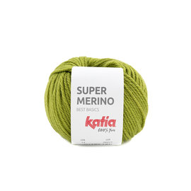Katia Super Merino  14 Groen