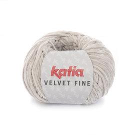 Katia Velvet Fine 208 Lichtgrijs