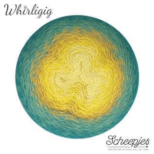 Scheepjes Whirligig 203 Teal to Yellow