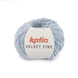 Katia Velvet Fine 205 Lichtblauw