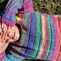 Katia Azteca 7871 Oranje-Fuchsia-Groen-Blauw-Lila