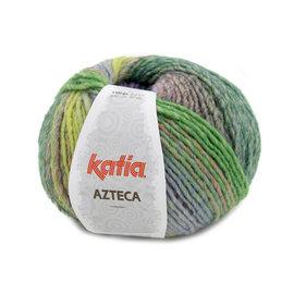 Katia Azteca 7874 Paars-Pistache-Groen-Oranje