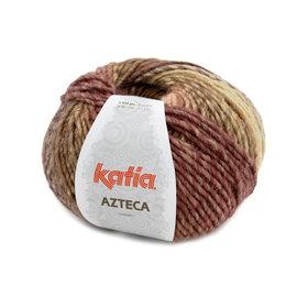 Katia Azteca 7877 Bruin-Oranje-Ecru-Lila