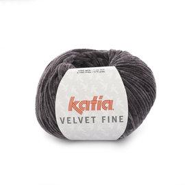 Katia Velvet Fine 210 Antraciet