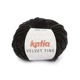 Katia Velvet Fine 211 Zwart