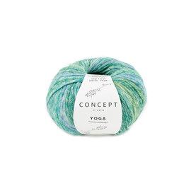Katia Yoga 205 Groen-Blauw