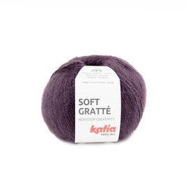 Katia Soft Gratté 74  Aubergine