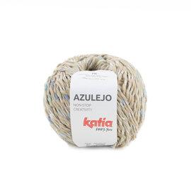 Katia Azulejo 301 Beige-Blauw-Geelgroen