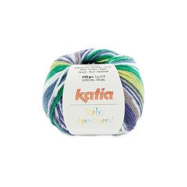 Katia Baby Jacquard 90 Zandgeel-Grijs-Groen