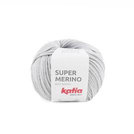 Katia Super Merino  9 Lichtgrijs
