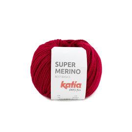 Katia Super Merino 23 Robijnrood