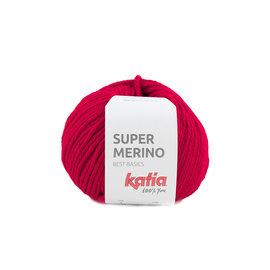Katia Super Merino 4 Rood