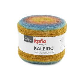 Katia Kaleido 305 Oker-Roestbruin-Groenblauw