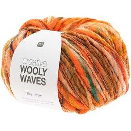 Rico Wooly Waves 2 Oranje