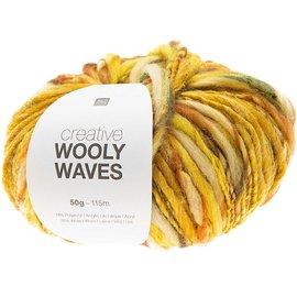 Rico Wooly Waves 3 Geel