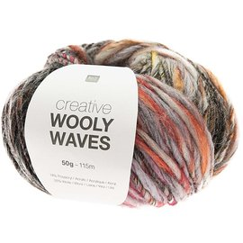 Rico Wooly Waves 6 Antraciet