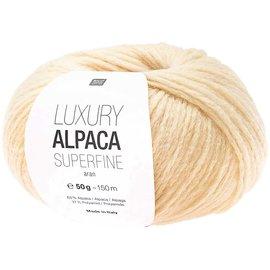 Rico Luxury Alpaca Superfine Aran 19 Vanilla