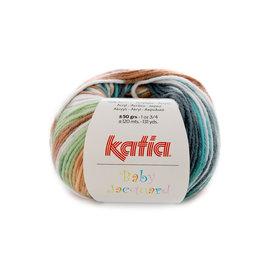 Katia Baby Jacquard 84 Groen-Beige