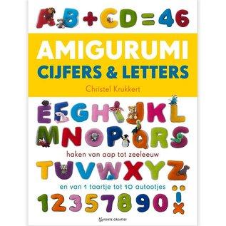 Haakboek Amigurumi Cijfers en Letters door Christel Krukkert