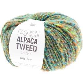 Rico Alpaca Tweed Chunky 7 Green