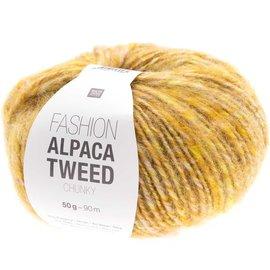 Rico Alpaca Tweed Chunky 8 Yellow
