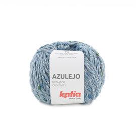 Katia Azulejo 305 Jeans-Groen-Blauw