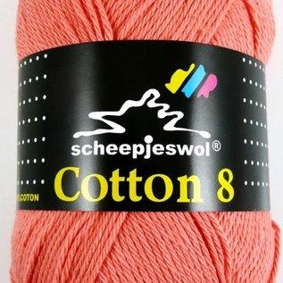 Scheepjes Cotton 8 650 Koraal