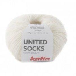 Katia United Socks 5 Ecru