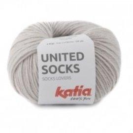 Katia United Socks 7 Steengrijs