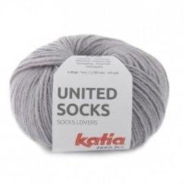 Katia United Socks 8 Grijs