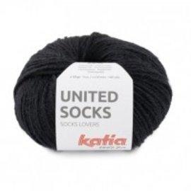Katia United Socks 10 Zwart
