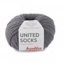 Katia United Socks 9 Donkergrijs