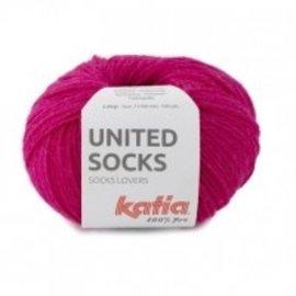 Katia United Socks 15 Fuchsia
