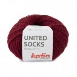 Katia United Socks 17 Bordeaux